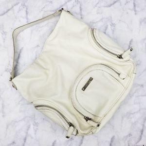 3/$18or5/$25 Michael Kors|Large Cream Sachel Bag